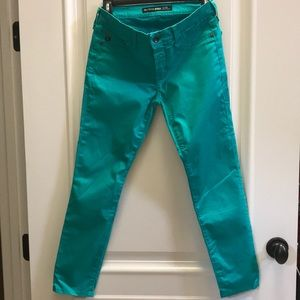 Big Star Alex mid rise cropped jeans.